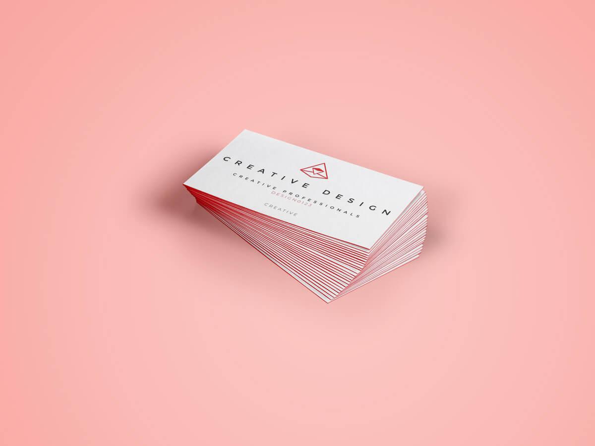 Kwalitatieve visitekaartjes drukken